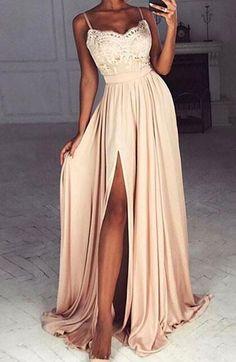 Long Prom Dress,Sexy Evening Dress,Chiffon Prom Dress,Sexy Prom