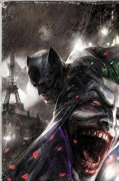 Batman: Europa #3 by Francesco Mattina * - Art Vault