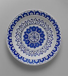 Dish with 'Kaleidoscope' Design