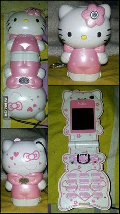 I saw your Ferrari Phone and raise you my Hello Kitty Phone!