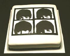 Beatles cake @Kelli Chambers this would be perfect!