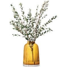 Get LSA Pleat Vase - - Amber now at Coggles - the one stop shop for the sartorially minded shopper. Free UK & EU delivery when you spend