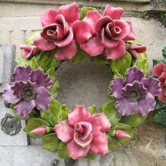 Ceramic wreath 5