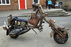 Steampunk  Scooter.