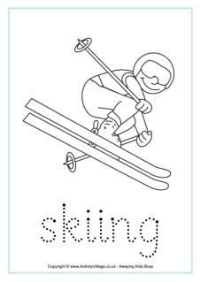 Winter Olympics Handwriting Worksheets - repinned by @PediaStaff – Please Visit ht.ly/63sNt for all our pediatric therapy pins
