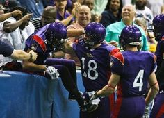 We're giving away tickets all week for the Voodoo game, Saturday July 21st, at 7:00pm against the Georgia Force. Here's how you can get some!    Compete in our Facebook Caption Contest! Post your captions for this picture! The most creative captions will earn two free Voodoo tickets!    http://www.facebook.com/PhilsGrillBurgers    Post as many captions as you want, and share with your friends! The more the merrier!