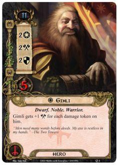Gimli Hero Card