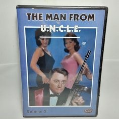New Sealed The Man From U.N.C.L.E. DVD TV Series Running From 1964-1968 Vol 2 Ikki Tousen, The Man From Uncle, Dolby Digital, Dvd Set, Tv Series, Running, Movies, Keep Running, Films