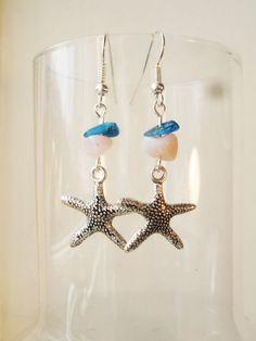 Silver Finish Starfish with Genuine Gemstones by FreeRangeLondon, £10.00