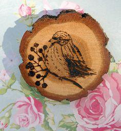 drewniane ptaszole lavanduli