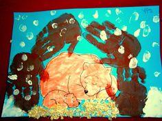 Προσχολική Παρεούλα Diy And Crafts, Crafts For Kids, Preschool, Education, Winter, Painting, Winter Time, Crafts For Children, Painting Art