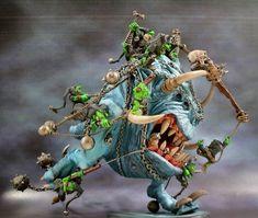 Warhammer 40k Figures, Warhammer Paint, Warhammer 40k Miniatures, Warhammer Fantasy, Goblin, Orks 40k, Fantasy Model, Fantasy Battle, Dnd Monsters