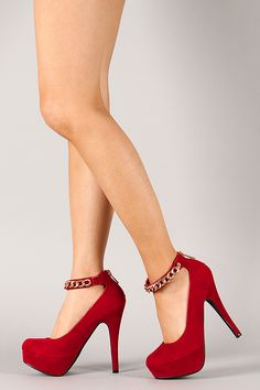 Love the charlotte russe Satin Floral Ankle-Strap Pump on