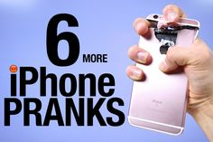 6 MORE iPhone Pranks To Piss Off Your Friends!