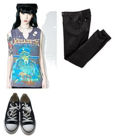 """""""Untitled #68"""" by silverstardust on Polyvore featuring Trunk LTD and Converse"""