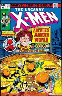 Items similar to Xmen 123 comic. Uncanny X-men book. 1979 Marvel, NM- on Etsy Dc Comics, Comics For Sale, Star Comics, Marvel Girls, Marvel X, Deathstroke, Vintage Comic Books, Vintage Comics, Silver Age