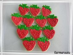 Täytekakkupohja - Kermaruusu - Vuodatus.net Watermelon, Sugar, Cookies, Fruit, Desserts, Food, Crack Crackers, Tailgate Desserts, Deserts