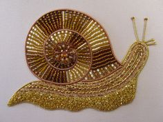 Goldwork with Beads ~ RSN class led by Shelley Cox