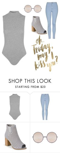 """Friday"" by riverrat-8543 ❤ liked on Polyvore featuring Topshop, Journee Collection and Quay"