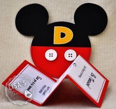 Custom Mickey Mouse Birthday Invitations