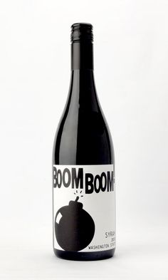 Charles Smith's Boom Boom! Syrah Washington State ~ Round, plum-my, with a bit of spice and blueberry goodness. Approx $15