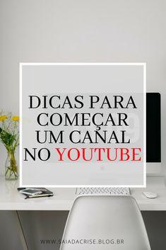 Clique no Pin e Descubra Dicas de Canais que vão te ajudar a iniciar o seu canal no YouTube.  #youtuber #youtube #comoseryoutuber #seryoutuber