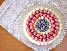Rhapsody 4th of July Cake
