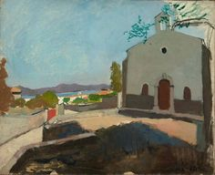 Henri Matisse | 1904 | The Chapel of Saint Joseph | 23 1/2 x 28 3/8 in. (59.7 x 72.1 cm) | Oil on canvas | MET Mseum - Credit Line: The Pierre and Maria-Gaetana Matisse Collection
