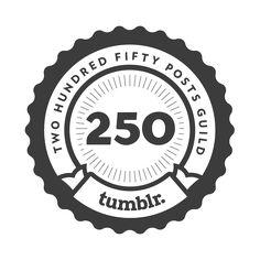Follow my blog on tumblr! Just hit 250 posts.