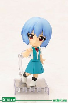 Evangelion: 2.0 You Can (Not) Advance REI AYANAMI CU-POCHE ACTION FIGURE