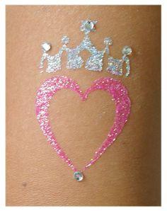 Glitter Tattoos from Glitter Body Art Glitter Crafts, Glitter Art, Body Glitter, Girls Pamper Party, Girl Spa Party, Hot Tattoos, Body Art Tattoos, Girl Tattoos, Tattoo Uk
