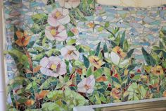 """a bit busy for a backsplash but as a mural it's a """"WOW""""! by ArtRulsDesign, via Flickr."""