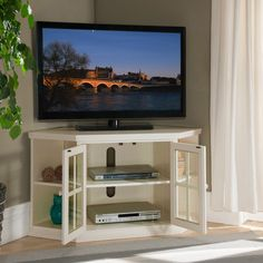Custom Made Corner Tv Cabinet Unit Open Custom