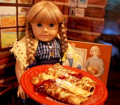 Not your average pancake! Almost every culture has some version of a pancake, whether they be soft and puffy, or thin and eggy. Nordic Christmas, Christmas Fun, Pioneer Foods, Santa Lucia Day, Swedish Pancakes, American Girl Crafts, Girl Cooking, Homemade Ornaments, Recipe Girl