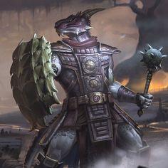 The Elder Scrolls,фэндомы,The Elder Scrolls Legends,argonian,TES расы