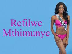Refilwe Mthimunye Miss South Africa wallpaper