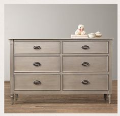 Emelia Wide Dresser from RHbaby $1249 http://www.rhbabyandchild.com/catalog/product/product.jsp?productId=rhbc_prod373034_ps=modal_add_to_cart-_-none-_-other_items_you_may_like=rhbc_cat111002