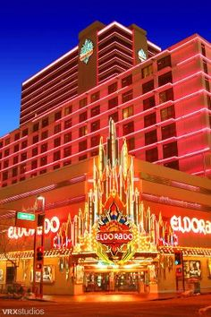 El Dorado casino in Reno, Nevada. First place I joined the cast of Spirit of the Dance