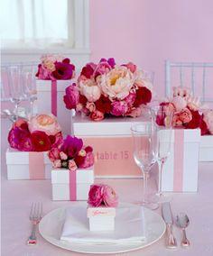 Multitasking Wedding Table Decorations