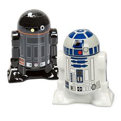 Star Wars Salt and Pepper Shakers - R2D2 and R2Q5 - Add a little Star Wars to every Meal Star Wars http://www.amazon.com/dp/B00LC4H9BQ/ref=cm_sw_r_pi_dp_1QPexb1G2WG72