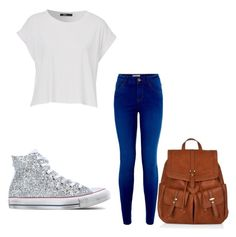 """""""Untitled #64"""" by djjazminmontiel on Polyvore featuring Converse and Accessorize"""