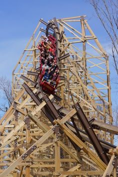 Outlaw Run is the new wood roller coaster at Silver Dollar City in Branson, Missouri.