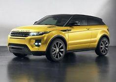 Range Rover Evoque, edición especial Sicilian Yellow