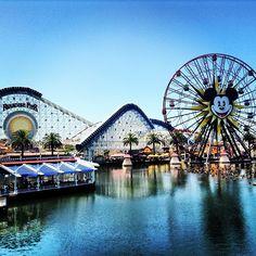 Disney California Adventure στην πόλη Anaheim, CA
