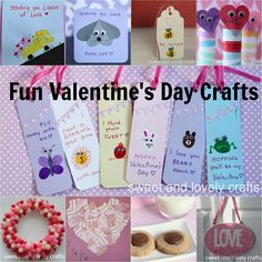 sweet and lovely crafts: Valentine's Day crafts
