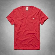 Muscle Fit V-Neck Tee