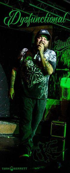 DEUCE! DYSFUNCTIONAL aka Brandon Price LIVE @ Kamikaze's 06/14/2016. Photography/Art by Tank Berrett Arts