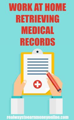 It's possible to work at home earning extra money retrieving medical records for a specific company. Our review explains more. Note they are not always hiring. #workathome #workfromhome