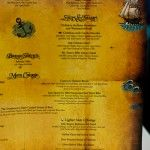 Pirate Night - Menu (Fantasy)
