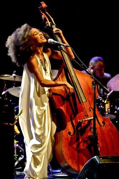 "transistoradio: "" Esperanza Spalding photographed in concert in 2014 by Jim Rinaldi. Jazz Artists, Jazz Musicians, Music Artists, Esperanza Spalding, Live Music, Good Music, My Music, Reggae Music, Blues Rock"